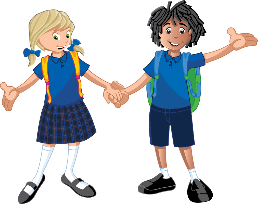 Clipart school uniforms banner royalty free download Beachlands School Child Clip art - school children 1012*800 ... banner royalty free download
