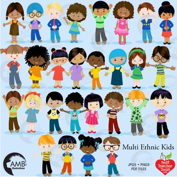 Children in the classroom clipart banner transparent library Classroom Clipart, Multicultural Kids Reading Clipart, AMB-2317 ... banner transparent library