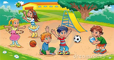 Kids at the park clipart picture library stock Children park clipart 3 » Clipart Station picture library stock