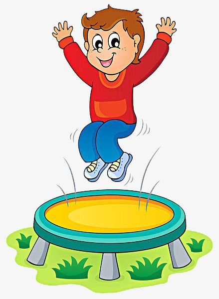 Trampoline clipart free graphic royalty free stock Child Jumping Trampoline, Child, Trampoline, Happy PNG Transparent ... graphic royalty free stock