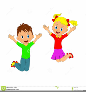 Clipart jumping clip art library download Children Jumping Clipart Free | Free Images at Clker.com - vector ... clip art library download