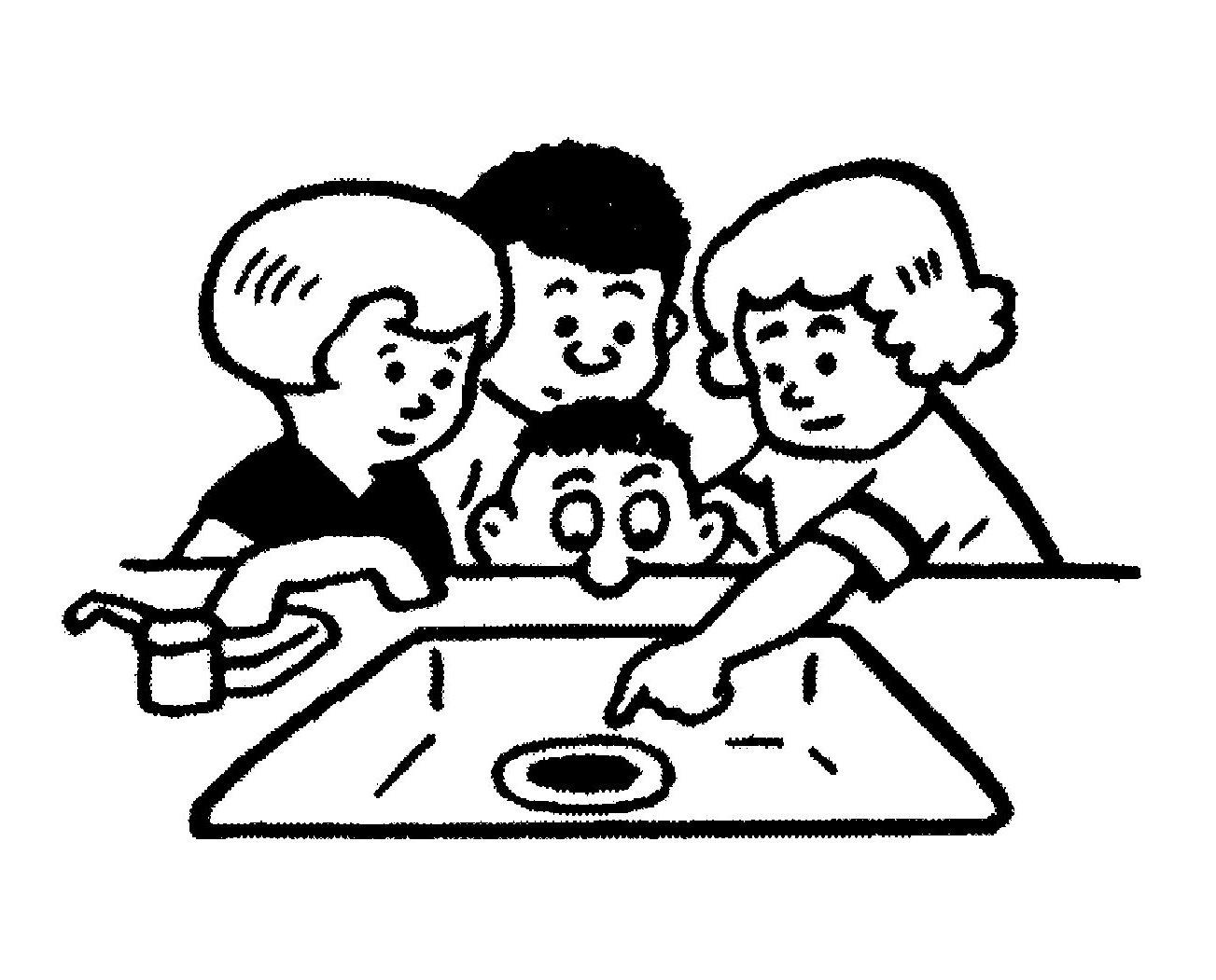 Children kitchen play clipart black and white vector free stock Kitchen Clipart Black And White | Free download best Kitchen Clipart ... vector free stock