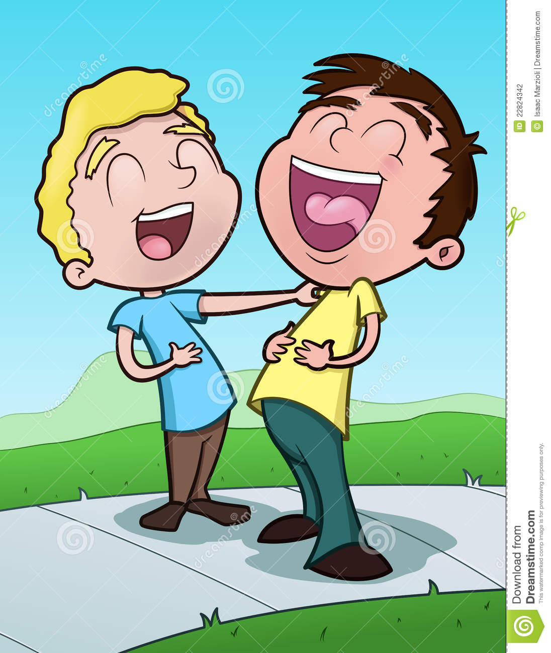 Children laughing clipart picture free Friends Laughing Clipart - Clipart Kid picture free