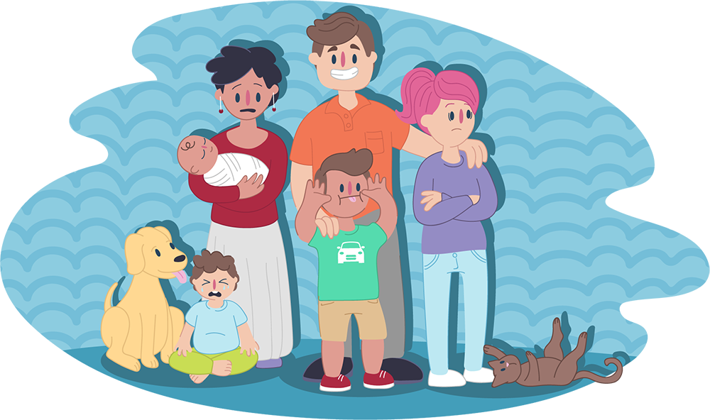 Happy family house clipart clip art freeuse library Family relationships | Kids Helpline clip art freeuse library
