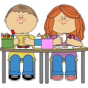 Children making art clipart jpg download Free Making Crafts Cliparts, Download Free Clip Art, Free Clip Art ... jpg download