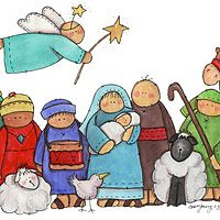 Children manger scene clipart vector transparent library 71 Best Nativity Drawings images in 2019 | Nativity, Christmas ... vector transparent library
