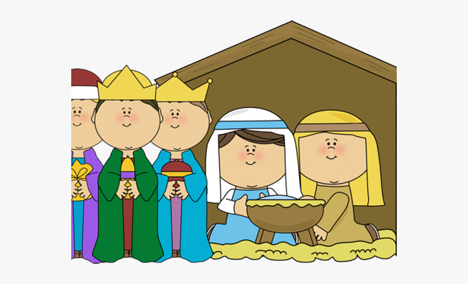 The nativity clipart png free Cute Nativity Cliparts - Children\'s Christmas Mass #283819 - Free ... png free