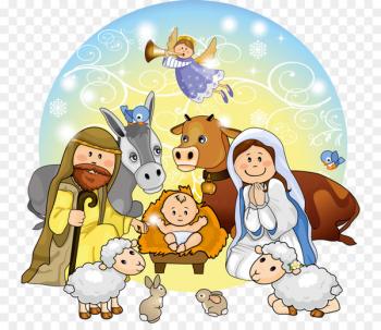 Children manger scene clipart graphic transparent download Nativity scene Manger Nativity of Jesus Bethlehem Clip art - Wise ... graphic transparent download