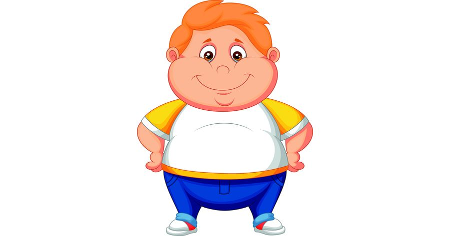 Children obesity clipart clip art Overweight Cartoon Characters & Child Obesity | Health | suc khoe ... clip art