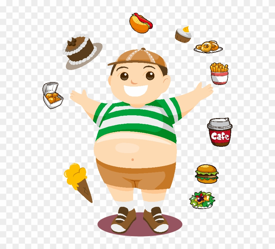 Obesity clipart free jpg transparent stock Svg Black And White Download Childhood Obesity Overweight - Child ... jpg transparent stock