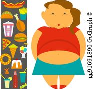 Children obesity clipart picture royalty free download Childhood Obesity Clip Art - Royalty Free - GoGraph picture royalty free download