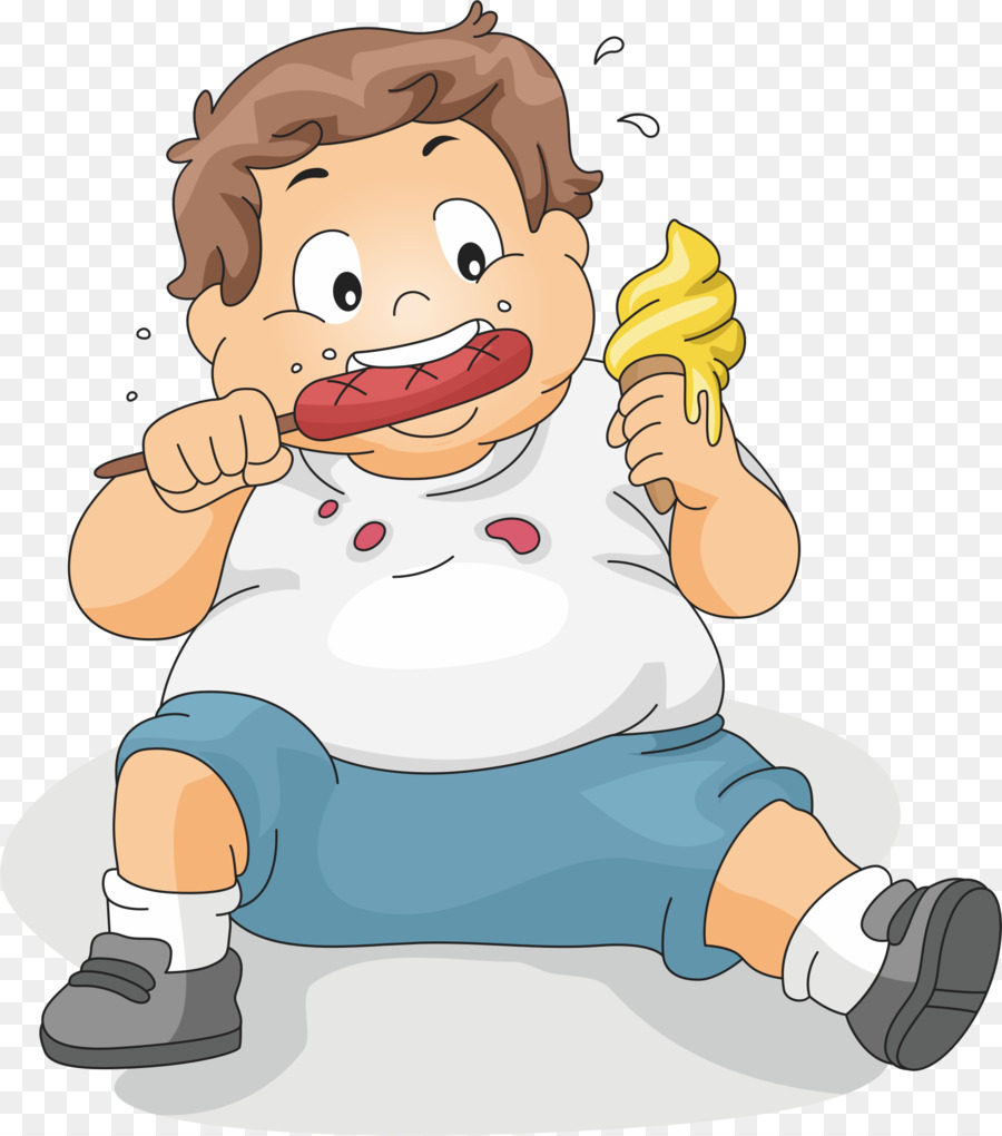 Children obesity clipart clip art transparent stock Obesity Cartoon png download - 1805*2045 - Free Transparent Eating ... clip art transparent stock