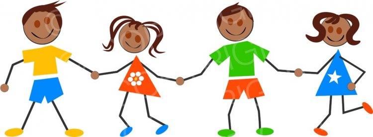 Library of children of all types holding hands svg royalty ... (750 x 276 Pixel)