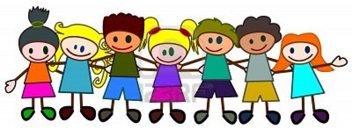 Children of all types holding hands clipart png library download Free Black And White Kids Holding Hands, Download Free Clip Art ... png library download