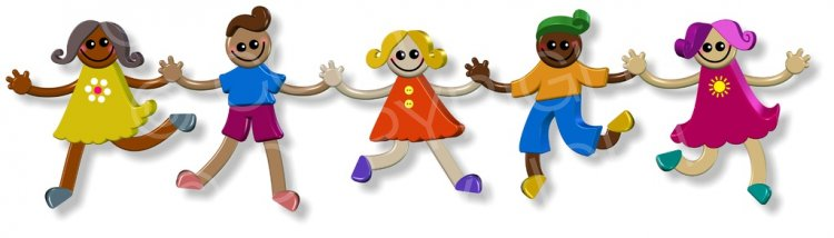 Children of all types holding hands clipart banner transparent download 3d Group of Cartoon Children Holding Hands Prawny Cute Kids Clip Art ... banner transparent download