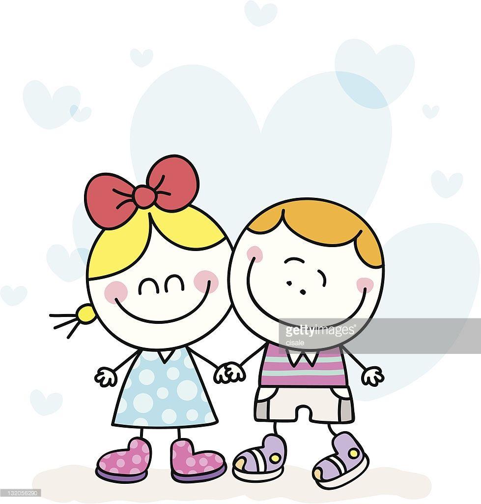 Children of all typs holding hands clipart vector free stock white-lover-boy-girl-children-couple-holding-hands-cartoon-vector ... vector free stock