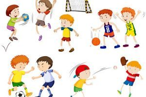 Children doing pe clipart 3 » Clipart Portal banner royalty free download