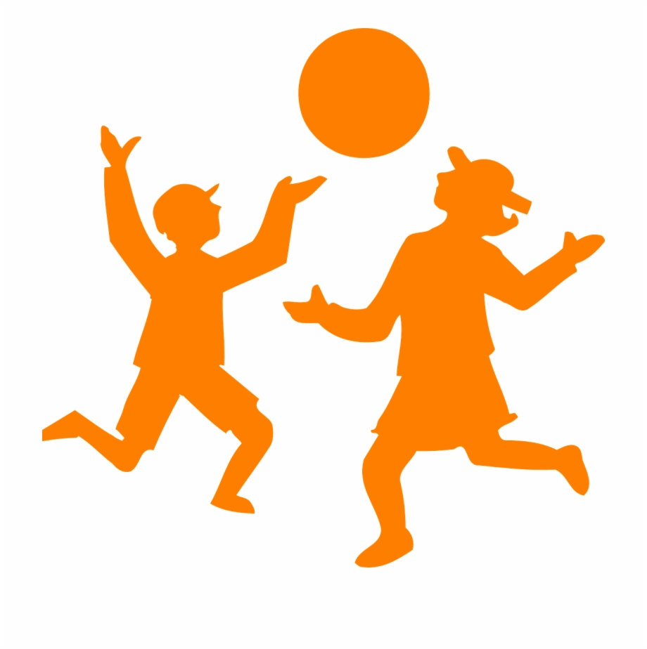 Children playing ball clipart banner library download Children Playing Ball Silhouette Png Image - Kids Playing Clip Art ... banner library download