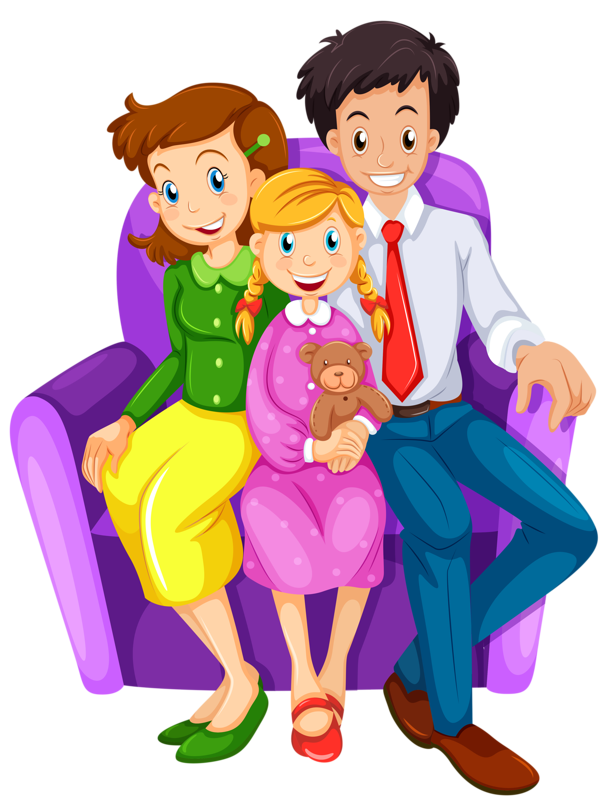 House with family clipart free svg transparent stock Family House Clip art - happy family 600*800 transprent Png Free ... svg transparent stock