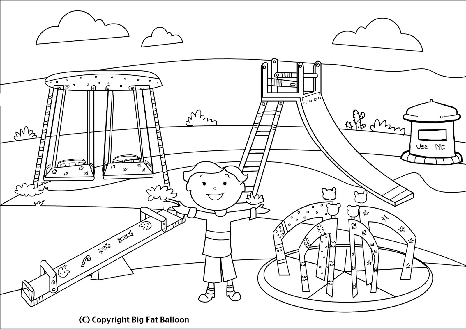 Children playing in the park clipart black and white graphic black and white stock Children Playing Drawing at PaintingValley.com   Explore collection ... graphic black and white stock