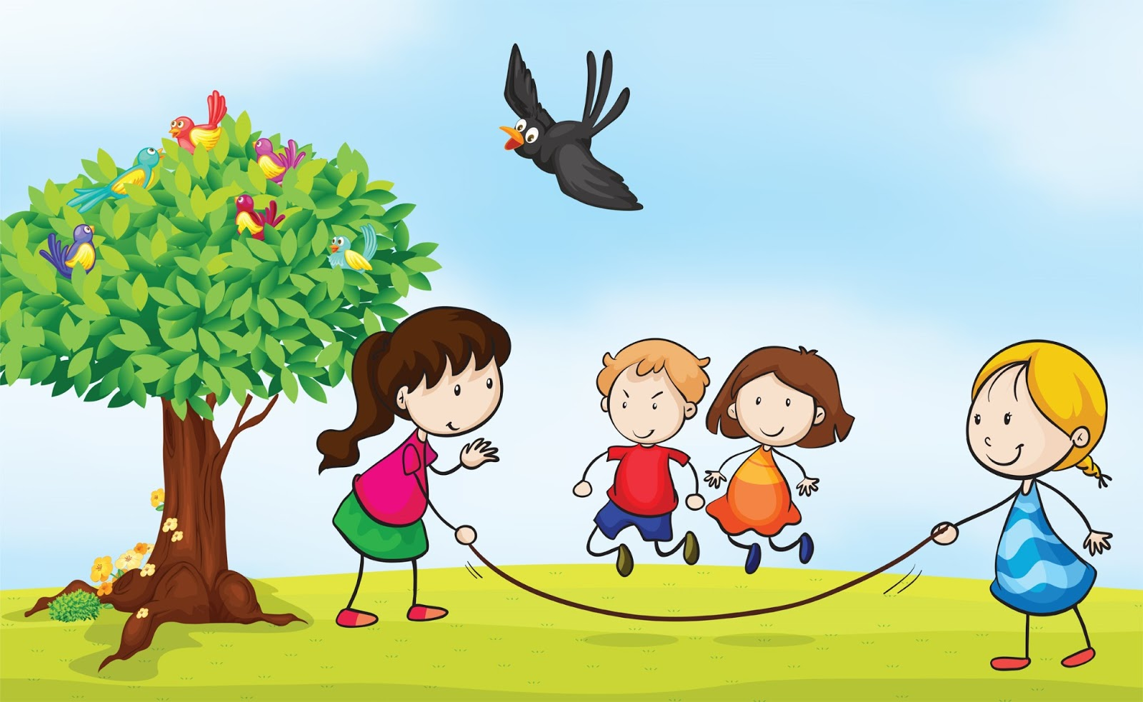 Children playing outside by the street clipart banner download Free Outside Cliparts, Download Free Clip Art, Free Clip Art on ... banner download