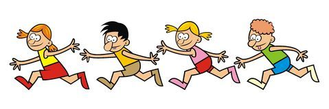 Children racing clipart png royalty free stock Children running race clipart 1 » Clipart Portal png royalty free stock