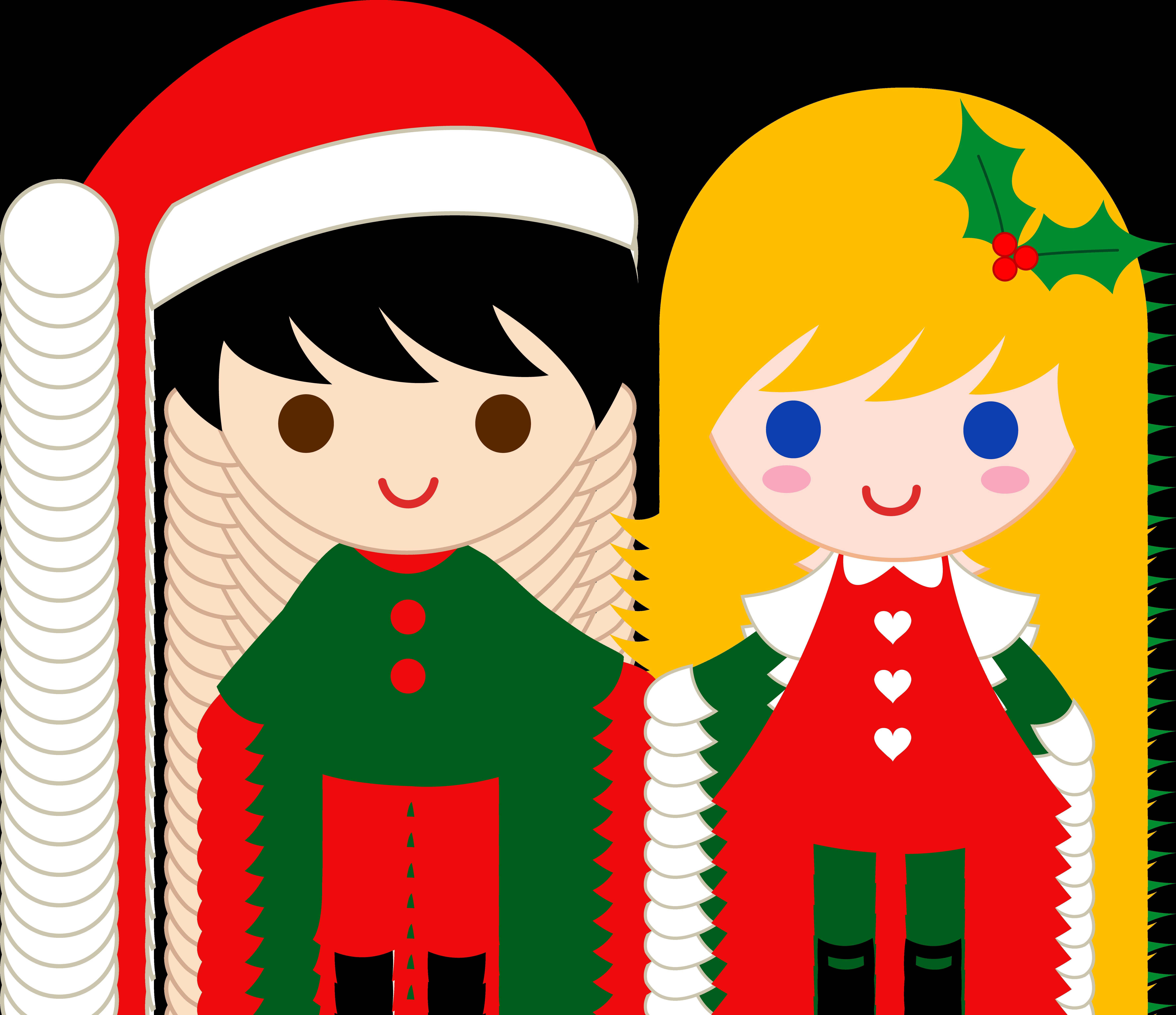 Children s christmas clipart free vector download cute children\'s clipart | Cute Christmas Kids Clip Art - Free Clip ... vector download