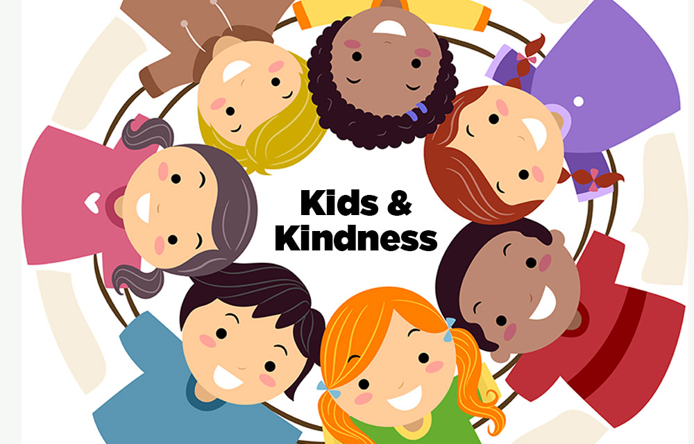 Children showing kindness clipart clipart black and white download Encourage kindness with your children - CoastalKids Orange County, CA clipart black and white download
