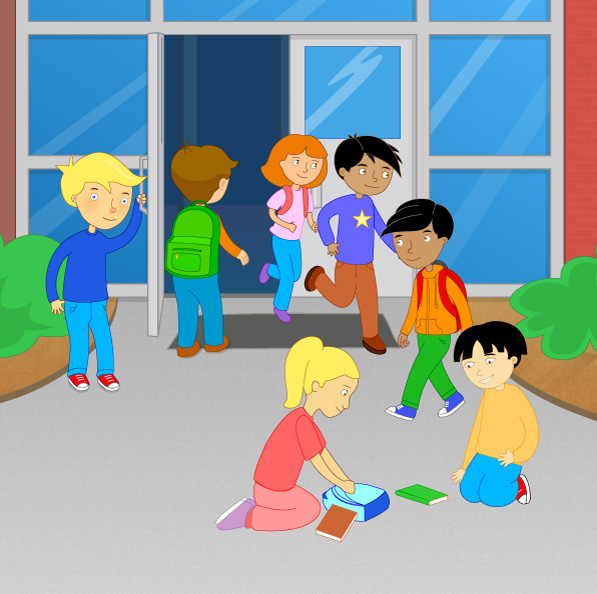 Children showing kindness clipart image transparent download People showing kindness clipart - ClipartFest image transparent download