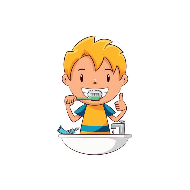 Children teeth clipart jpg royalty free library Child brushing teeth clipart 1 » Clipart Station jpg royalty free library