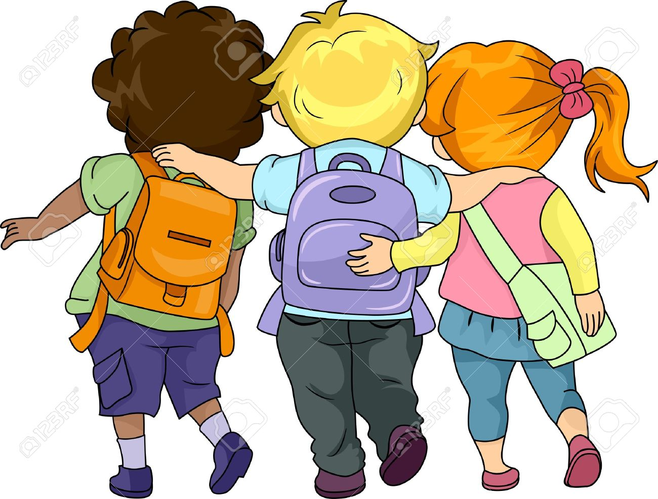 Children together clipart vector transparent download Pictures Of Children Playing Together | Free download best Pictures ... vector transparent download