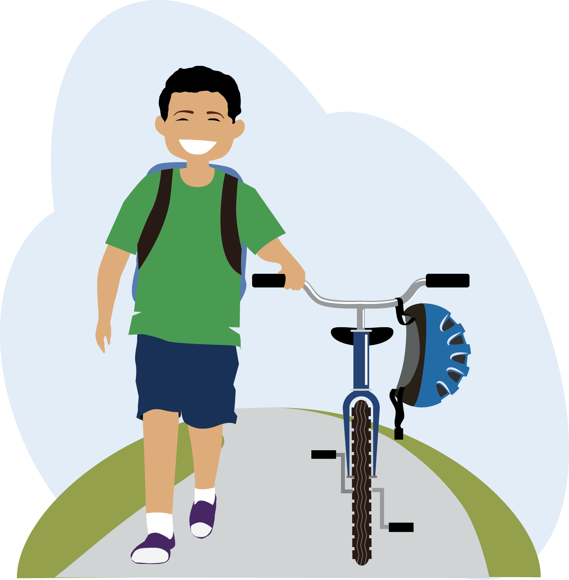 Walk in school clipart png library download Access for Walking and Biking – Live Well Greater Toledo png library download