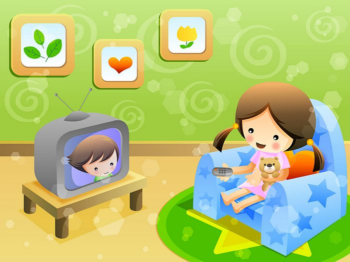 Watch cartoons clipart png Free Watching TV Cliparts, Download Free Clip Art, Free Clip Art on ... png