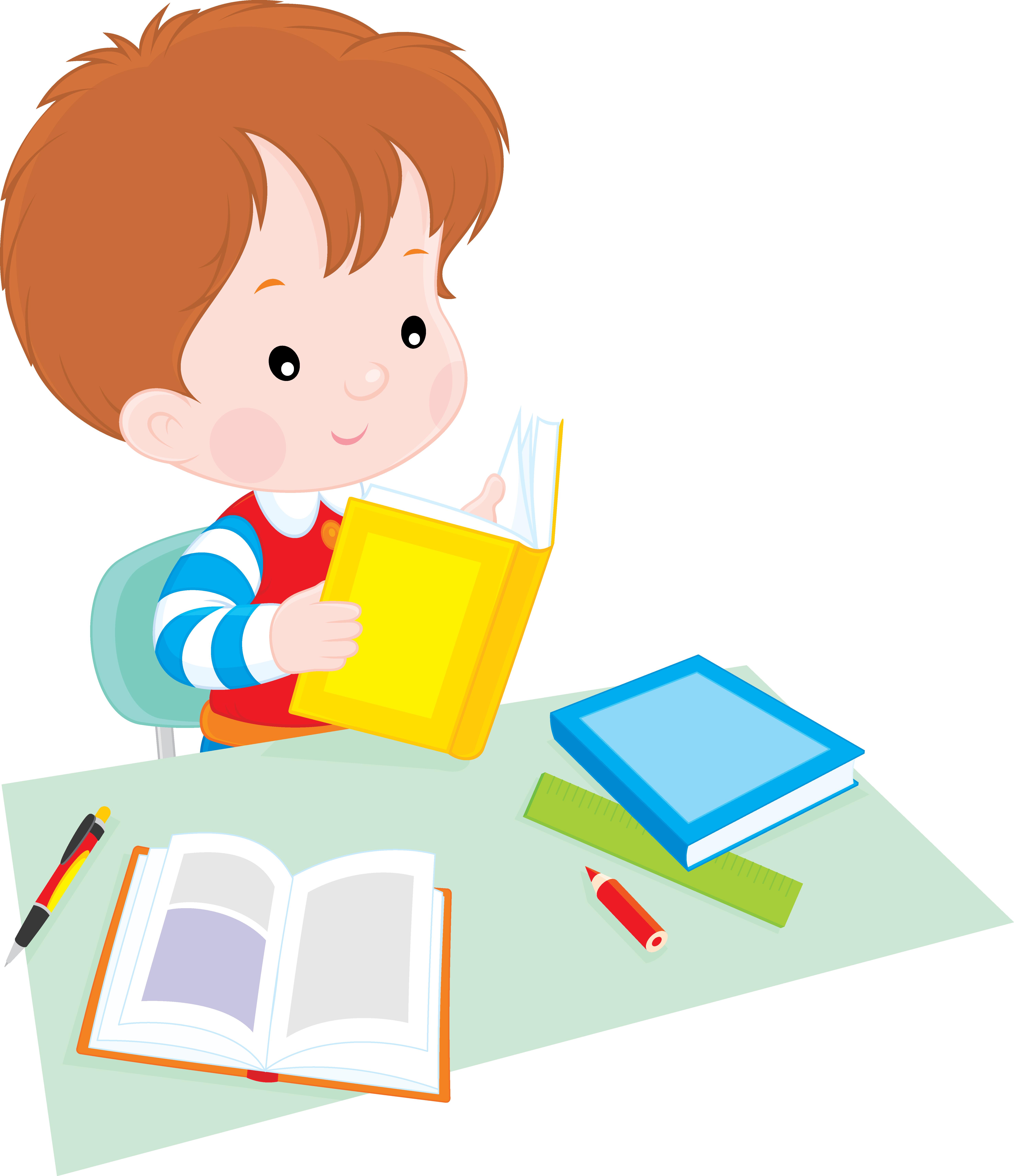 Children working at school clipart clip art transparent download Student Reading Clip art - School children 5906*6850 transprent Png ... clip art transparent download