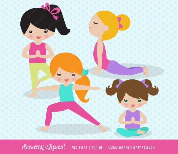 Children yoga clipart jpg download Pin by Elizabeth Dziedzic on Entertain lane | Easy yoga poses, Yoga ... jpg download