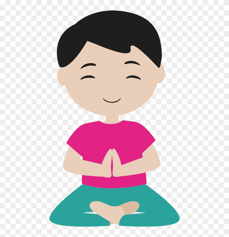 Yoga kid clipart picture free library Meditation And Yoga For Kids - Yoga Enfant Clipart - Png Download ... picture free library