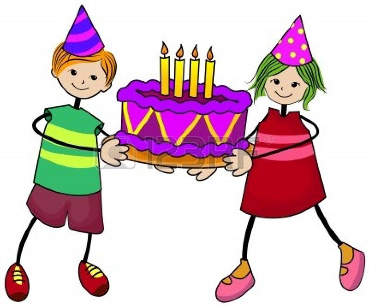 Childrens birthday clipart graphic download Kids Birthday Party Clipart | Free download best Kids Birthday Party ... graphic download