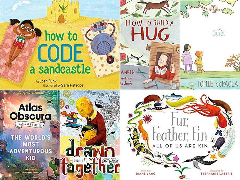 Children-s books watercolor clipart image black and white The Ten Best Children\'s Books of 2018 | Arts & Culture | Smithsonian image black and white