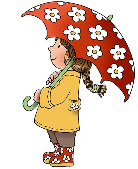 Children-s clipart of mary clip free library Umbrella girl | Mary Hall - Professional children\'s illustrator ... clip free library
