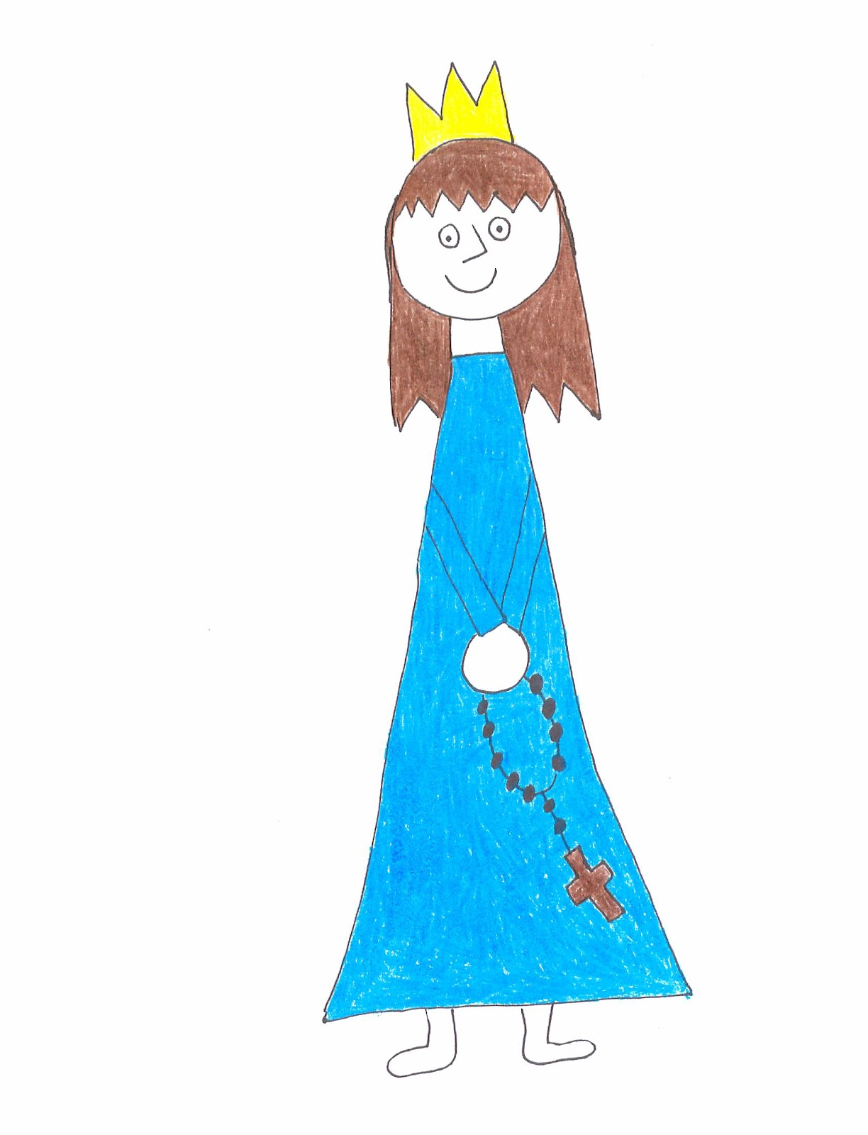 Children-s clipart of mary clip art library download Children\'s Rosary: Blessed Mother Mary of the Children\'s Rosary clip art library download