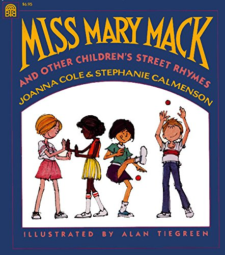 Children-s clipart of mary picture Miss Mary Mack and Other Children\'s Street Rhymes: Joanna Cole ... picture