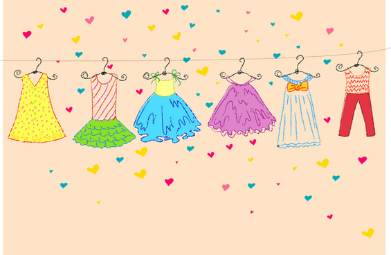 Kids fashion clipart banner library download Kids clothes free clipart free vector download (6,072 Free vector ... banner library download