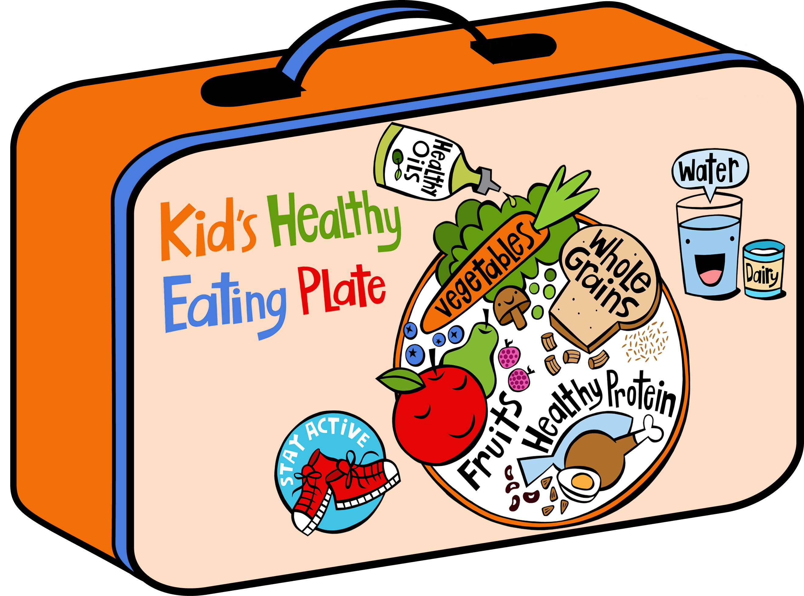 Children-s department news clipart clip library library Kid\'s Healthy Eating Plate | The Nutrition Source | Harvard T.H. ... clip library library