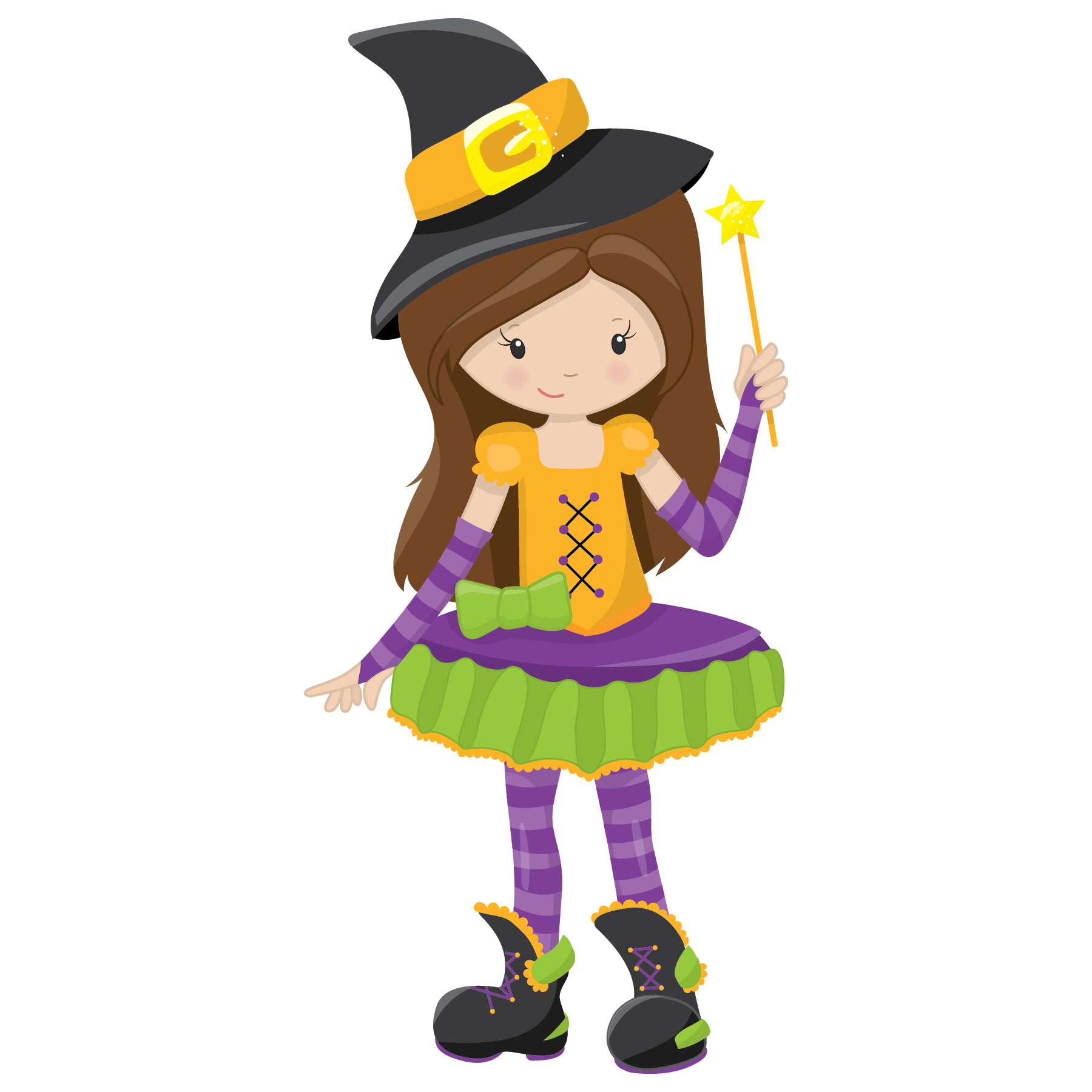 Halloween children in costumes clipart banner freeuse library Halloween Ready – The Little Puddins Blog. banner freeuse library