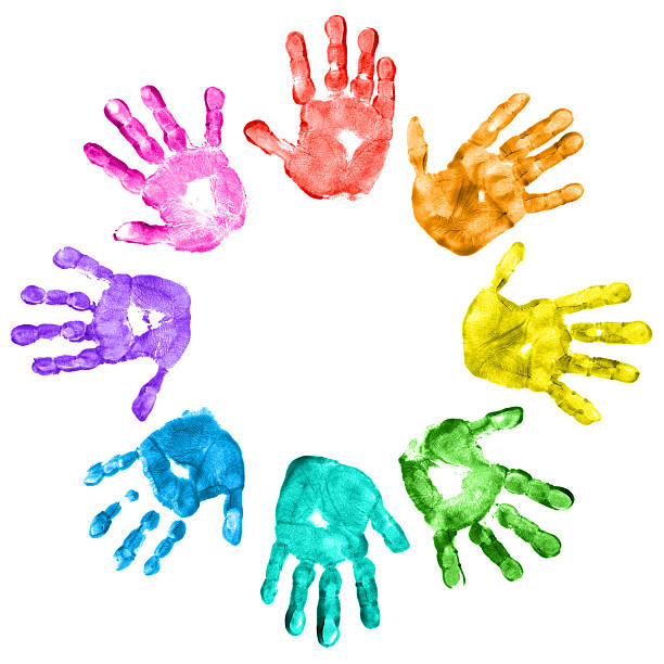 Children-s hand prints clipart picture transparent stock Childrens Handprint | Free download best Childrens Handprint on ... picture transparent stock