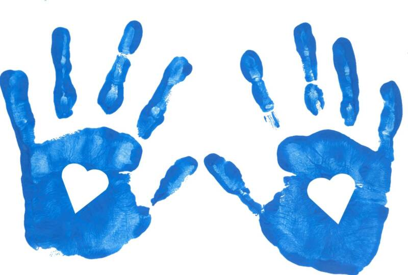 Children-s hand prints clipart jpg freeuse library Free Baby Handprint Cliparts, Download Free Clip Art, Free Clip Art ... jpg freeuse library