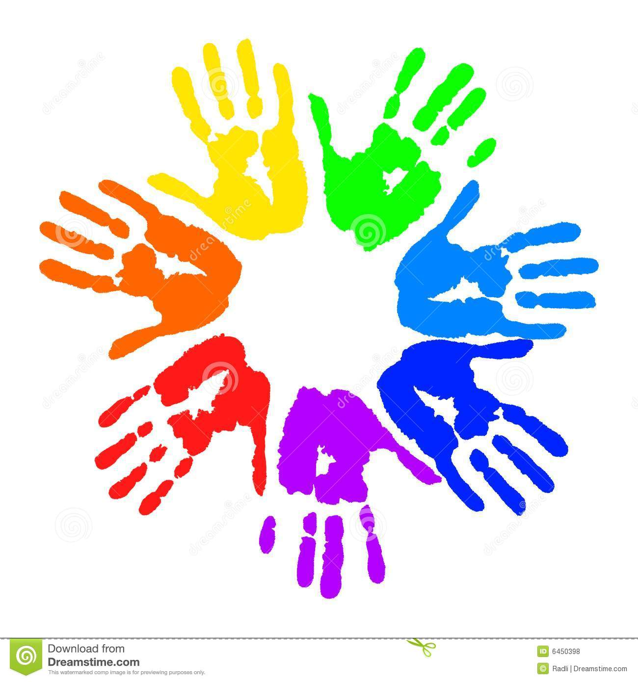 Children-s hand prints clipart picture free stock Kids Handprint Clipart | Clipart Panda - Free Clipart Images picture free stock