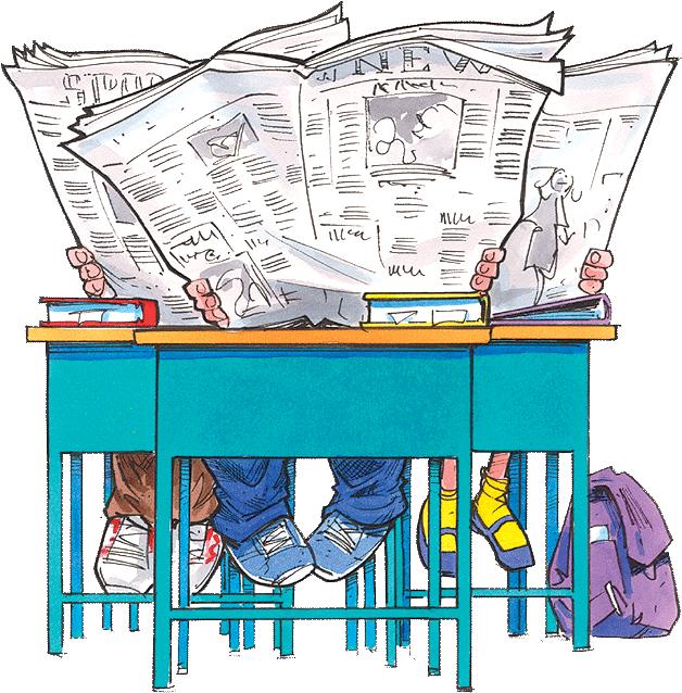 Children-s news clipart