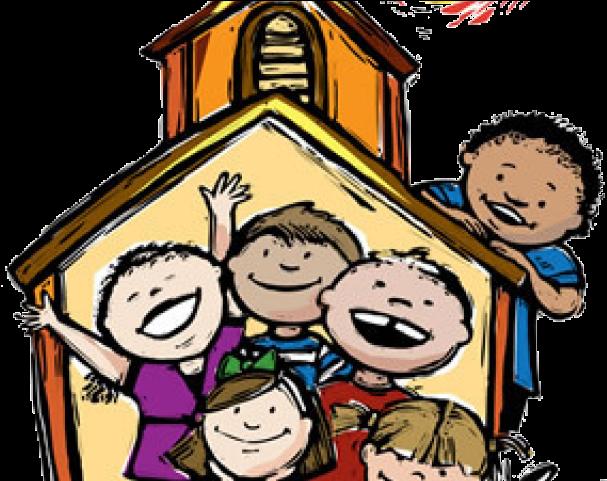 Childrens sermon clipart banner black and white Chapel Clipart Ccd - Children\'s Sermons , Transparent Cartoon - Jing.fm banner black and white