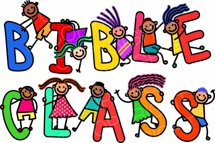 Childs bible clipart picture Bible Class Kids - Toddler Title Text Clip Art – Prawny Clipart ... picture